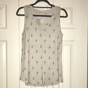 Maurices 24/7 Flower Cactus Tank